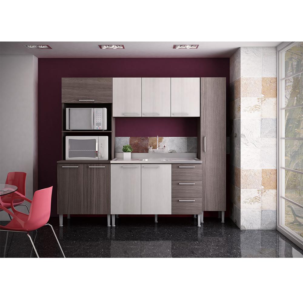 Cozinha Modulada Completa Com 04 M Dulos Alice Genial Flex
