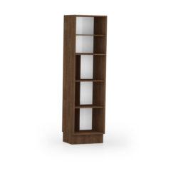 9035-Paneleiro duplo c porta de madeira - ABERTO