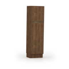 9035-Paneleiro duplo c porta de madeira - FECHADO