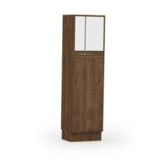 9036-Paneleiro duplo c 02 portas de vidro - FECHADO