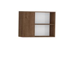 9086-Aéreo de Canto 02 portas de madeira - Direito - ABERTO