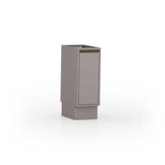 8016-Balcão 30 cm - 01 Porta - Fechado