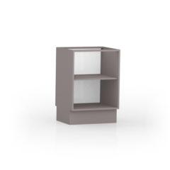 8022-Balcão 60 cm - 02 Porta - ABERTO