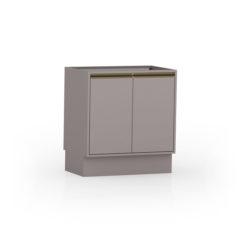 8028-Balcão 80 cm - 02 Portas - Fechado