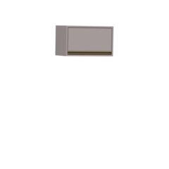 8061-Aéreo 60 cm - 01 Porta Basculante - FECHADO