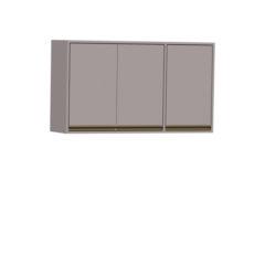8096-Aéreo 03 Portas - 120cm - Porta de madeira - FECHADO